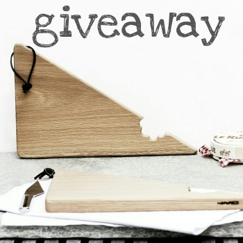WIN a pair of wooden serving boards